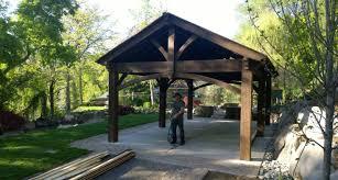 patio u0026 pergola timber frame arbor pergola pavilion gazebo kit