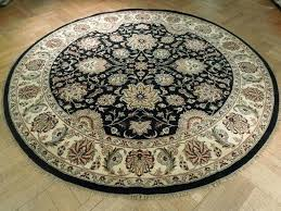 Large Jute Area Rugs Sculpted Round Flower Rugs Allen Roth Cliffony Cream Rectangular