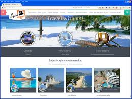 travel web images Travel agency website for sejur magic jpg