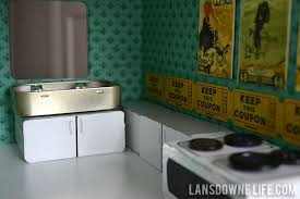 House Kitchen Appliances - diy dollhouse kitchen furniture part 3 of 6 lansdowne life