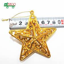aliexpress com buy sl3300 10pc gold star christmas decorations