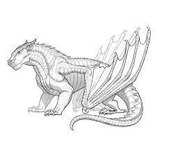 fire breathing dragon coloring pages clay is a mudwing u2014 that u0027s the big burly hippo eating tribe who