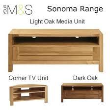 light wood tv stand light oak media cabinets corner tv unit m s furniture offerscorner