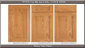 Oak  Cabinet Door Styles And Finishes Maryland Kitchen - Finish for kitchen cabinets
