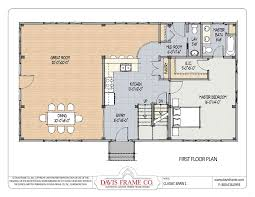 class barn 1 timber frame barn home plans from davis frame