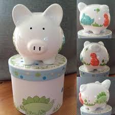 personalised piggy bank personalised ceramic piggy bank