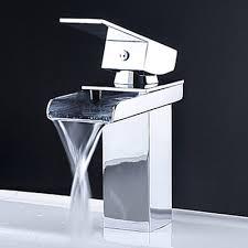 Artos Faucets Reviews Kokols Single Handle Single Hole Waterfall Bathroom Sink Faucet