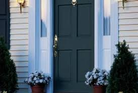 House Exterior Doors How To Air Seal Around A Newly Installed Exterior Door Home