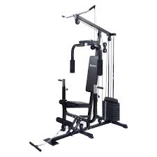 amazon com costway home gym weight training exercise workout