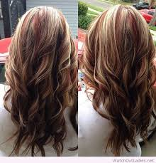 blonde and burgundy hairstyles red highlights with blonde and brown lowlights on imgfave hair
