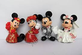 mickey minnie cake topper mickey minnie mouse lovely prefect wedding cake topper figure