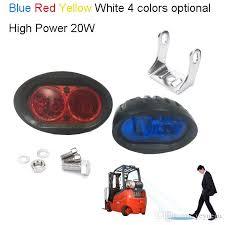 blue warning lights on forklifts 20w led work light for forklift light warehouse safety warning l
