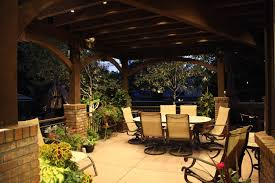 Patios And Pergolas by Patio Pergola And Deck Lighting Ideas And Pictures