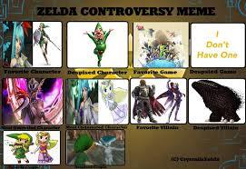 Zelda Memes - my zelda controversy meme by firemaster92 on deviantart