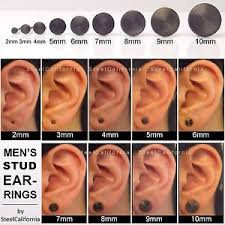 black earrings for men black stud earrings for men black gold plated post earrings