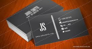 creative business card template designers revolution premium