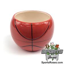 Ceramic Football Vase Basketball Planter Vase