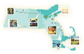 A Map Of Massachusetts by Massachusetts Road Trips Road Trip From Boston Road Trip Boston