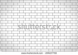 white brick wall subway tile pattern stock vector 408872755