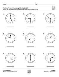 date u0026 time free children u0027s worksheets u0026 educational books