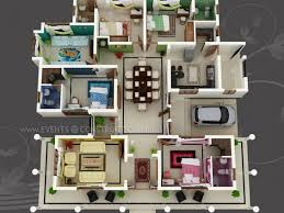 big home plans big house with colour coded rooms 4 bed 4 bath sims house
