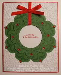 daydream medallions christmas wreath works in progress paper crafts