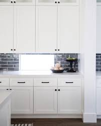 white kitchen cabinets with black knobs kitchen details from our modern farmhouse project white