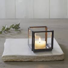 apsley small tealight holder candle holders the white company uk