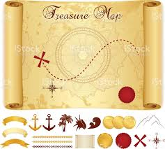 Old Treasure Map Treasure Map Clip Art Vector Images U0026 Illustrations Istock
