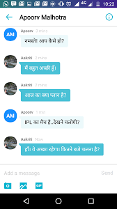 yahoo messenger updated will now let users chat in hindi