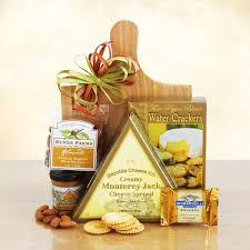 thank you gift baskets cheese and crackers thank you gift basket california delicious