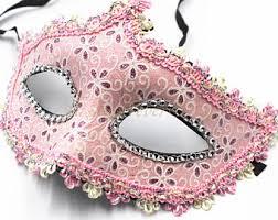 pink masquerade masks pink masquerade mask etsy