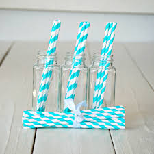 paper straws striped paper straws various colors had a party
