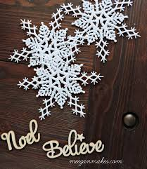 how to make an embellished snowflake ornament what meegan makes