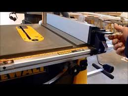 review dewalt portable table saw stand models dw 744 xrs and