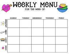 weekly menu templates free childcare menu plan template created with the childcare provider