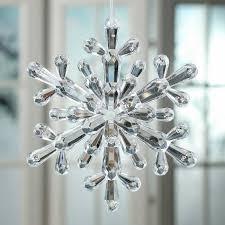 acrylic snowflake ornament ornaments