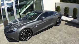 silver aston martin vanquish vanquish coupé hammerhead silver sold youtube