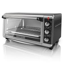Portable Toaster Oven Black Decker Extra Wide 8 Slice Toaster Oven To3250xsb Black
