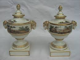 two ornamental vases amstel porcelain catawiki