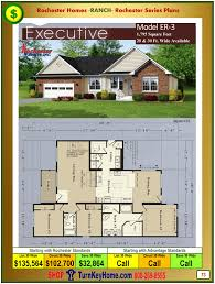 executive ranch floor plans alpine home plans priced
