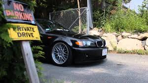 bmw 325i stanced slightly modified clean e46 youtube