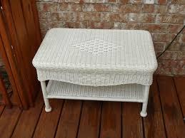 White Wicker Patio Furniture - for sale hampton bay java white resin wicker patio furniture