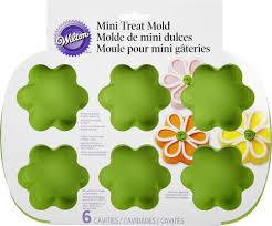 Flowers Bread Store - amazon com wilton mini 6 cavity flower silicone mold candy