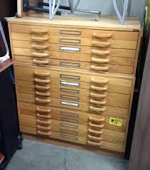 Wood Flat File Cabinet Advanced Liquidators Stacor 5 Drawer Wood Flat Files 8d X 4w X