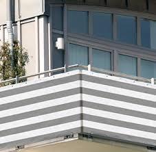 balkon abdeckung de 5x0 9m balkon sichtschutz windschutz atmungsaktiv