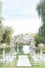 wedding arches toronto wedding flower gazebo and ceremony flowers by a clingen of