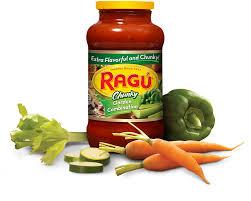 garden combination pasta sauce ragú