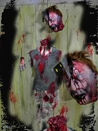 2014 cut off head props creepy collection haunted house