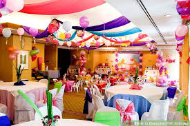 Balloon Ceiling Decor How To Decorate With Balloons 9 Steps With Pictures Wikihow